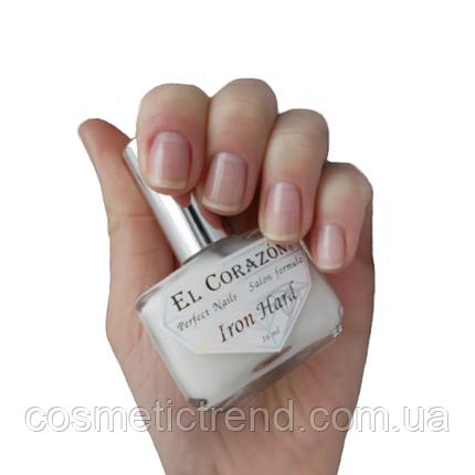 Препарат для укрепления ногтей «железная твердость» El Corazon Nail Care Iron Hard №418 16мл, фото 2