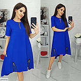 Стильное платье   (размеры 50-64) 0239-66, фото 2