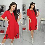 Стильное платье   (размеры 50-64) 0239-66, фото 4
