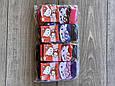 Дитячі шкарпетки H & M підліткові бамбук для дівчаток Hello Kitty 1,11 років 12 шт в уп мікс 4х кольорів, фото 4