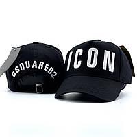 Мужская кепка, бейсболка Icon Dsquared2, черная