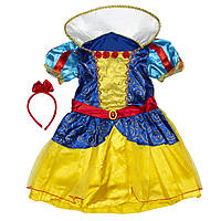 Костюм детский карнавальный белоснежка, рост 92-104 см, желтый (091052A)