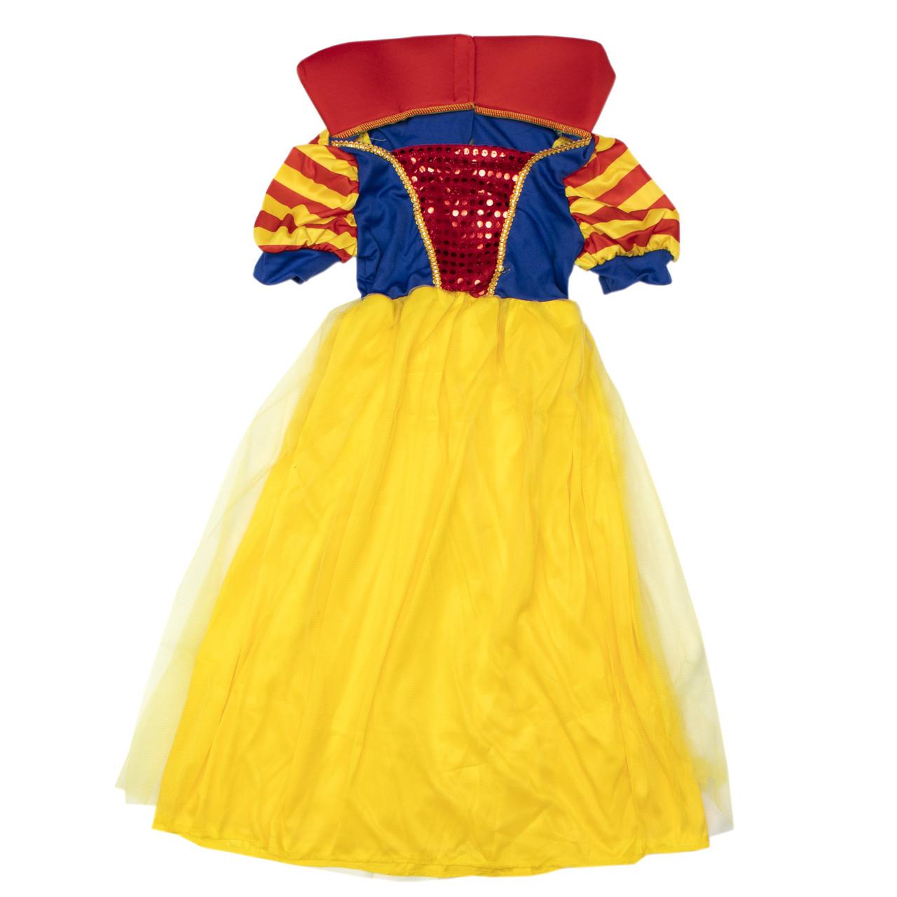 Костюм детский карнавальный белоснежка, рост 92-104 см, желтый (CC008A)