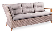 Угловой диван Порту трехместный (195х77х91) искусственный ротанг, фото 2