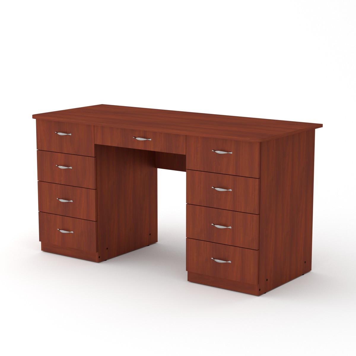 Стол письменный учитель-3 яблоня Компанит (140х60х74 см)