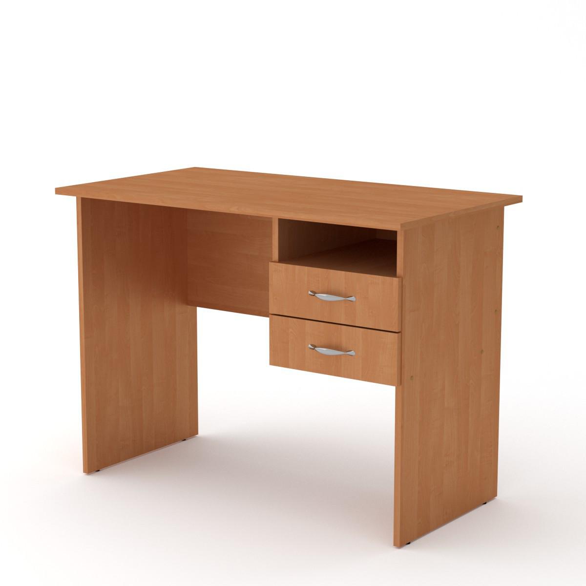 Стол письменный школьник ольха Компанит (100х55х74 см)