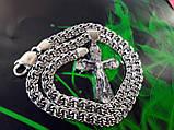 Срібна цепочка з хрестиком, фото 9
