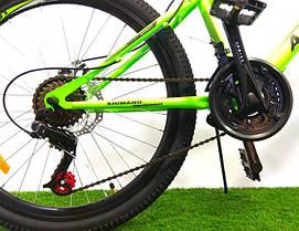 """Подростковый горный велосипед Azimut Forest 24 размер рамы 12,5"""" GD BLUE, фото 3"""