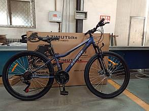 """Подростковый горный велосипед Azimut Forest 24 размер рамы 12,5"""" GD BLUE, фото 2"""