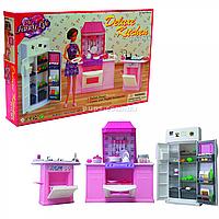 Детская игрушечная мебель Глория Gloria для кукол Барби Кухня 9986. Обустройте кукольный домик