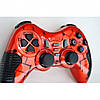 Беспроводной Джойстик 6 в 1 для ПК/PS2/PS3/PC360/ANDROID TV/WIN10 вибро красный, фото 6