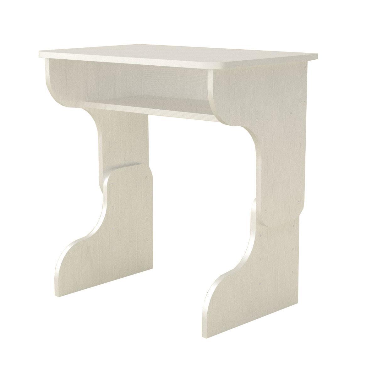 Стол письменный малыш белый Компанит (66х43х51 см)