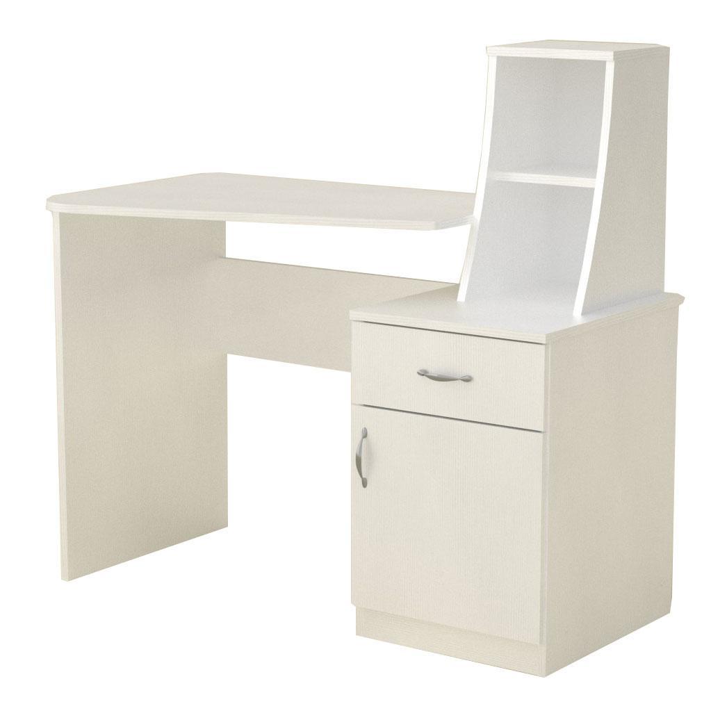Стол письменный школьник-3 белый Компанит (110х74х105 см)
