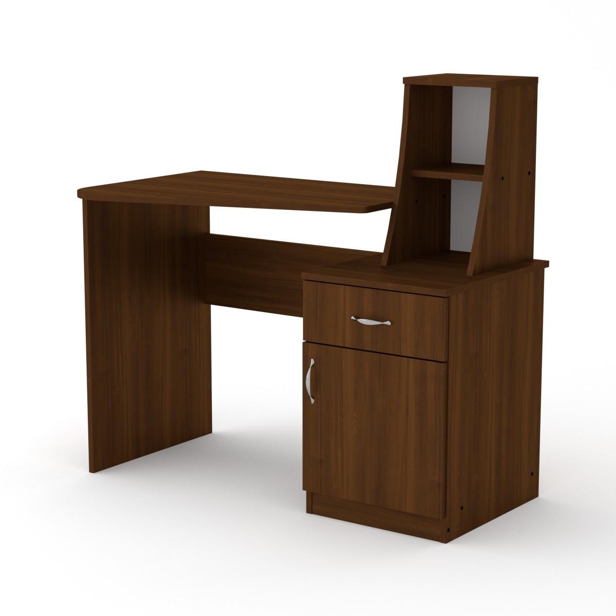 Стол письменный школьник-3 орех экко Компанит (110х74х105 см)
