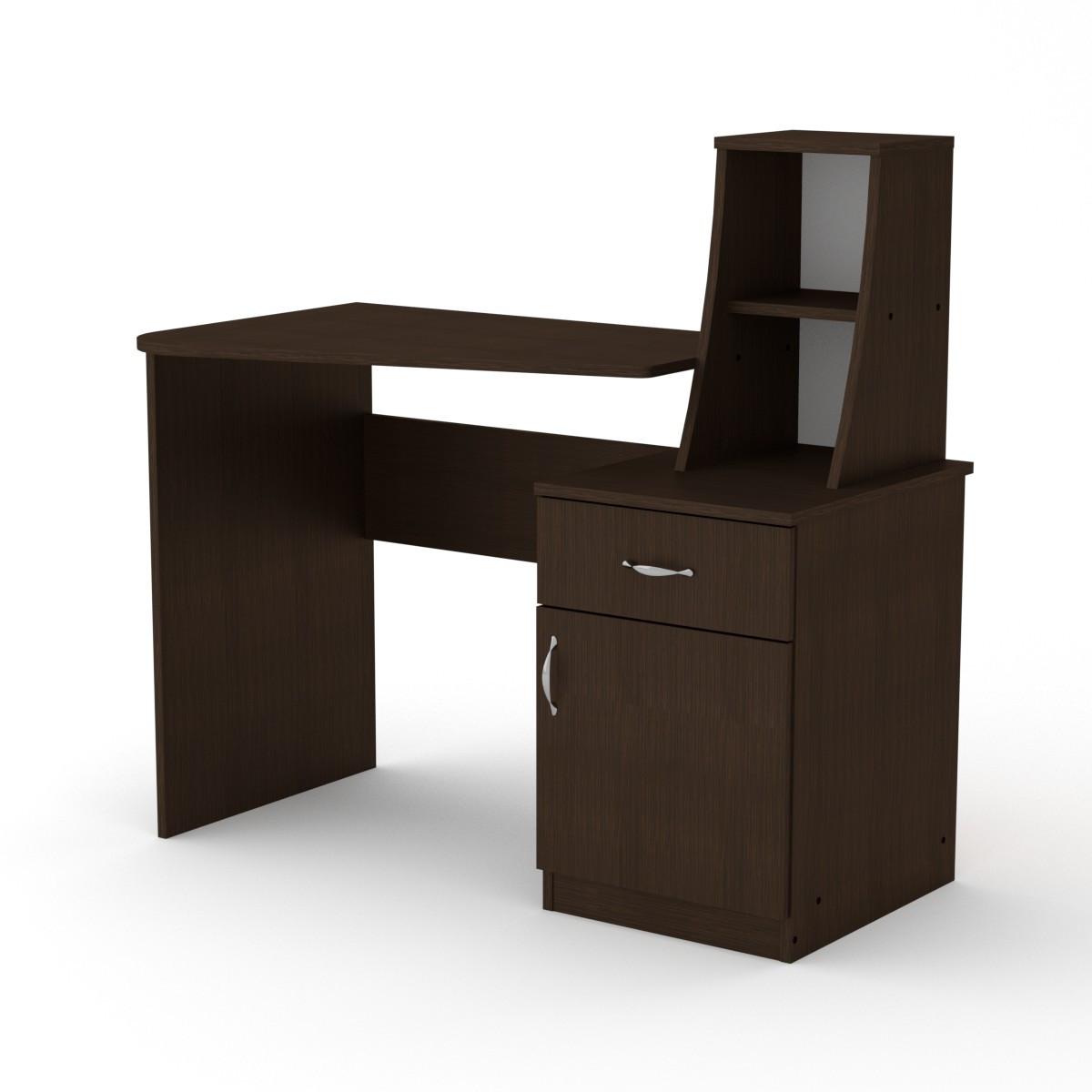 Стол письменный школьник-3 венге Компанит (110х74х105 см)
