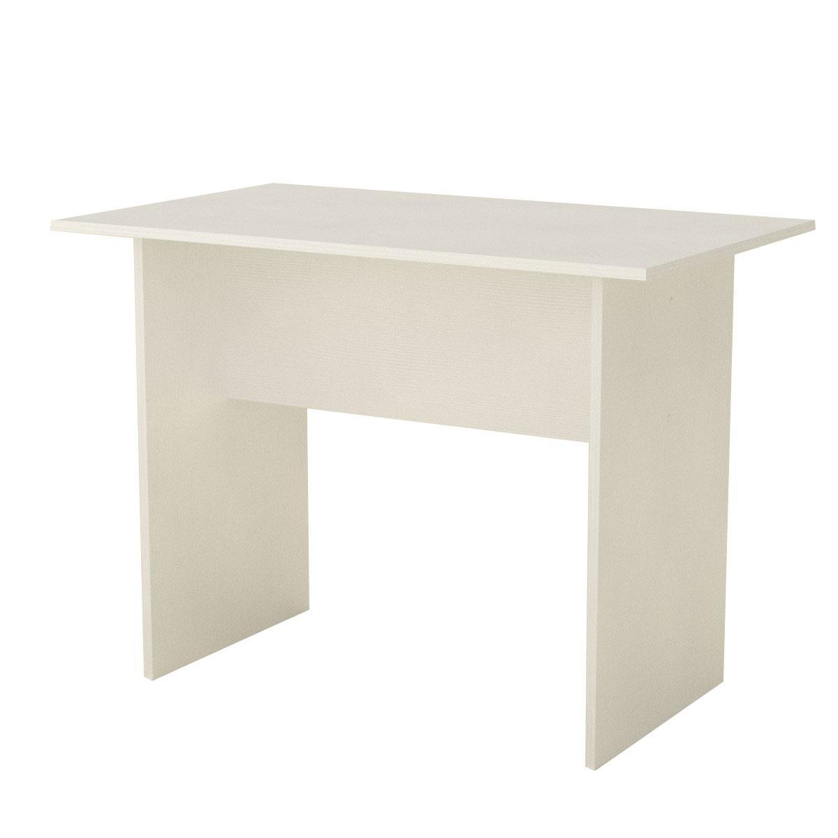 Стол письменный мо-1 белый Компанит (100х60х74 см)