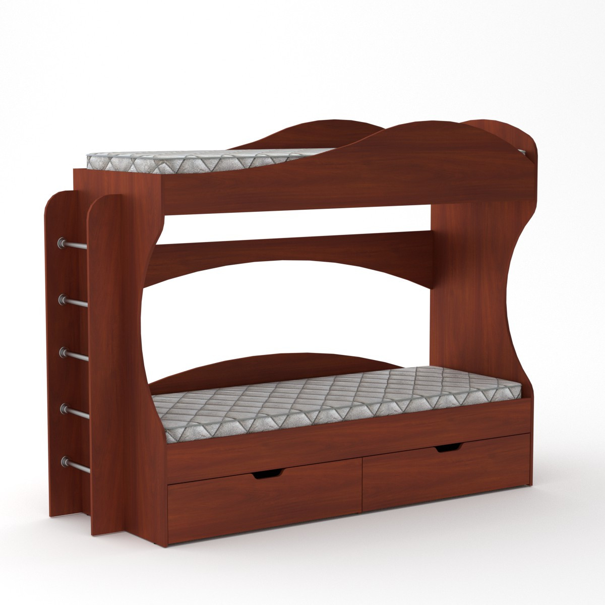 Кровать двухъярусная Бриз яблоня Компанит