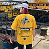 Жёлтая футболка NASA Mombert (наса со светоотражающей полоской мужская женская), фото 6