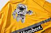 Жёлтая футболка NASA Mombert (наса со светоотражающей полоской мужская женская), фото 3