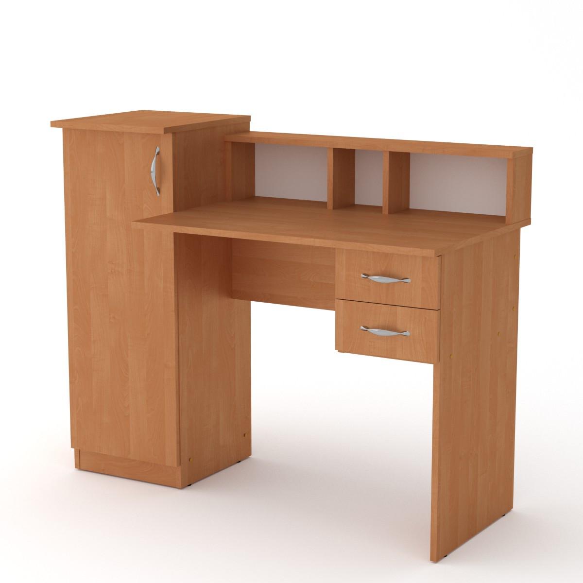Стол письменный пи пи-1 ольха Компанит (118х55х96 см)