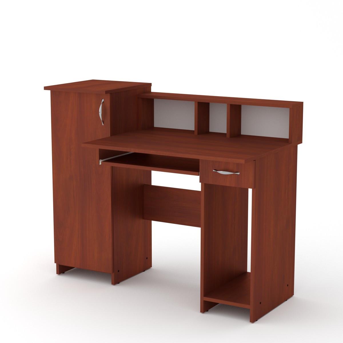 Стол компьютерный Пи пи-2 яблоня Компанит (118х60х96 см)