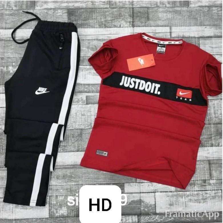 Спортивный костюм Nike Красный (весна-лето)