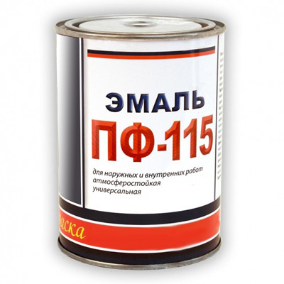 Эмаль ПФ-115 синяя (0,9 кг)