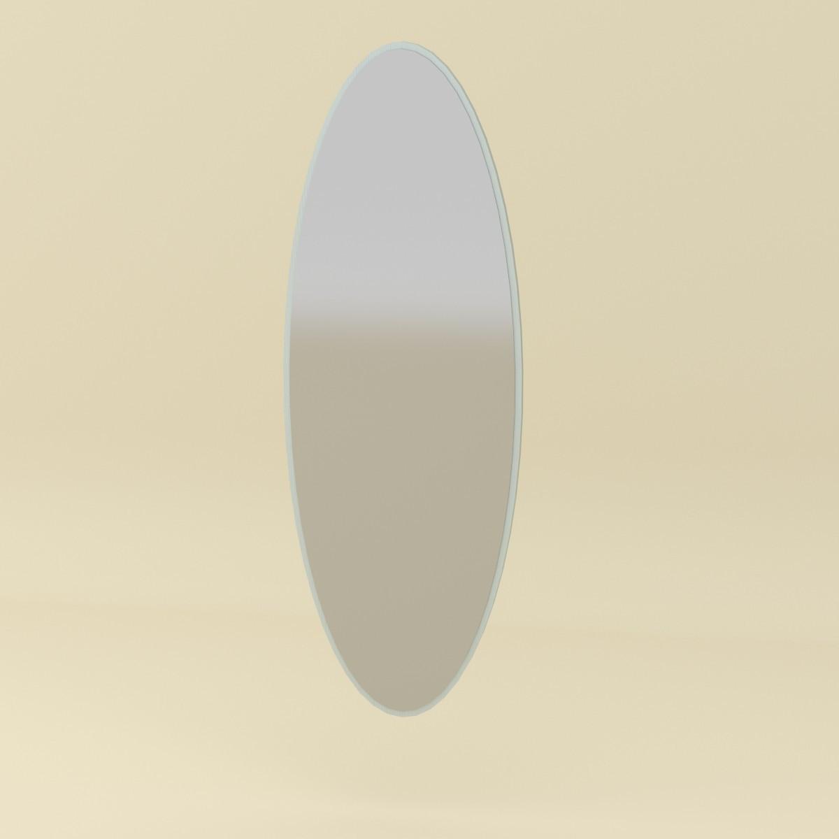Зеркало-1 белый Компанит