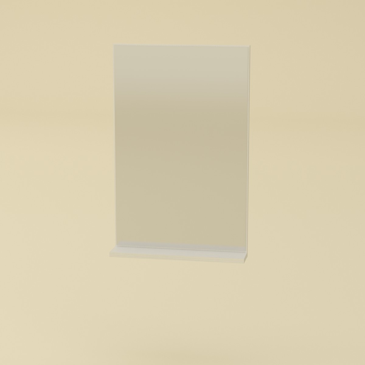 Зеркало-2 белый Компанит