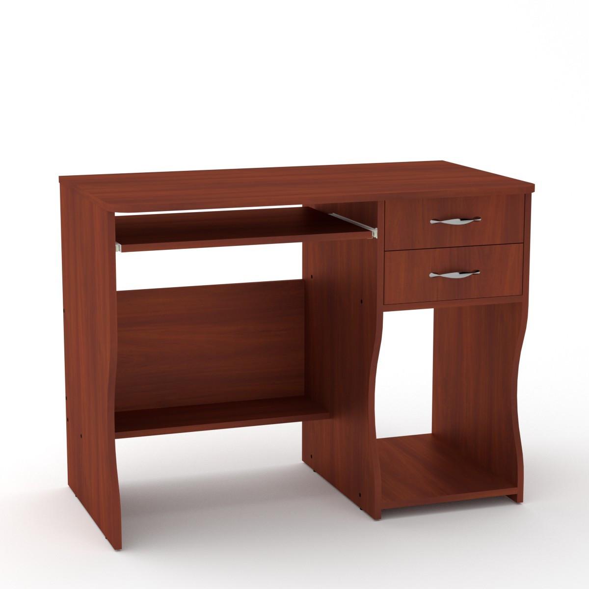 Стол компьютерный СКМ-7 яблоня Компанит (100х55х77 см)