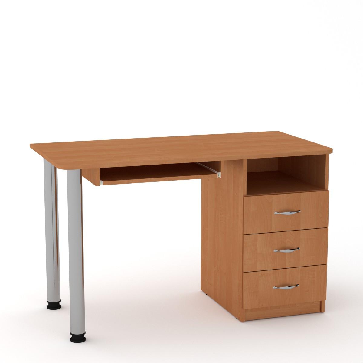 Стол письменный СКМ-9 ольха Компанит (120х60х74 см)