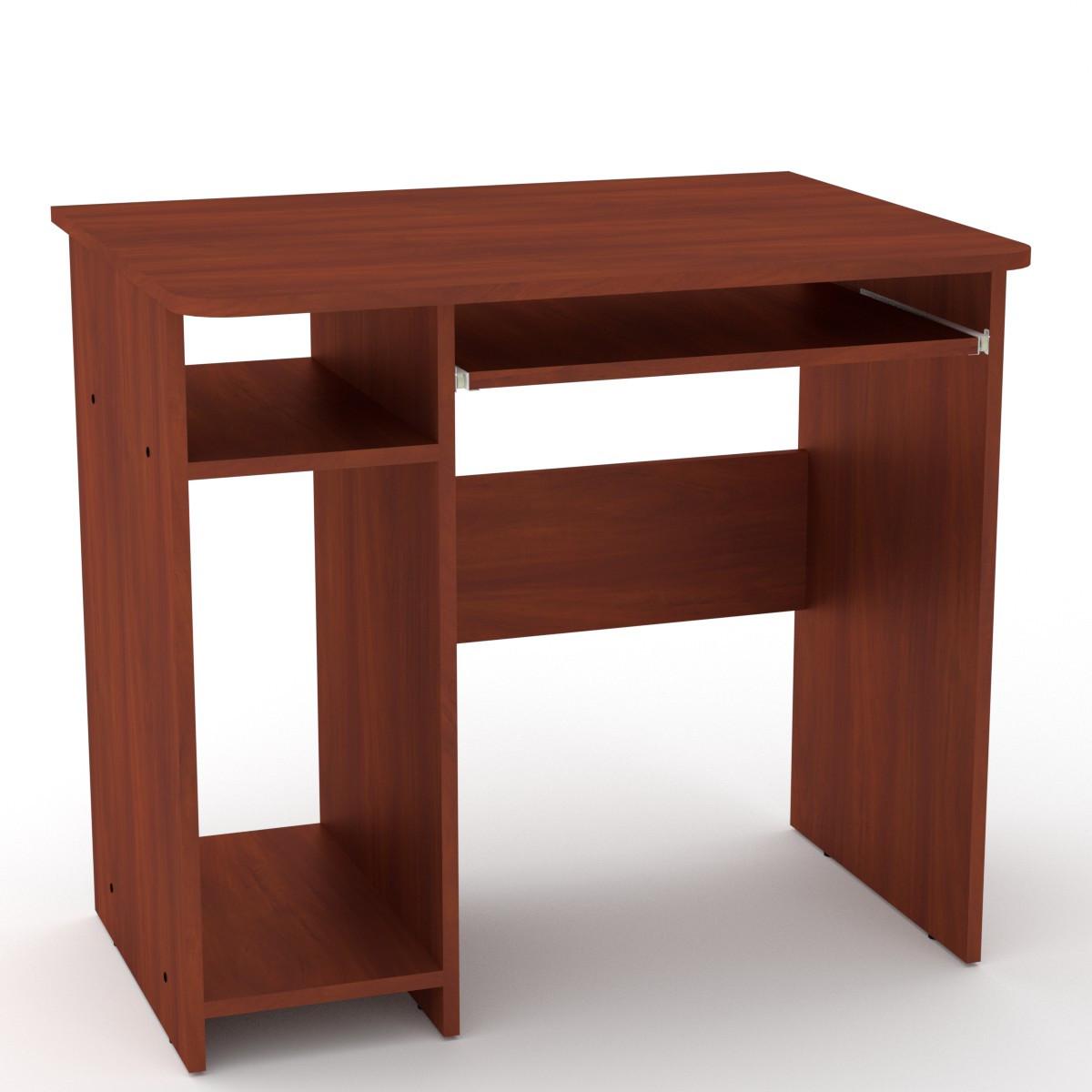 Стол компьютерный СКМ-12 яблоня Компанит (82х60х74 см)