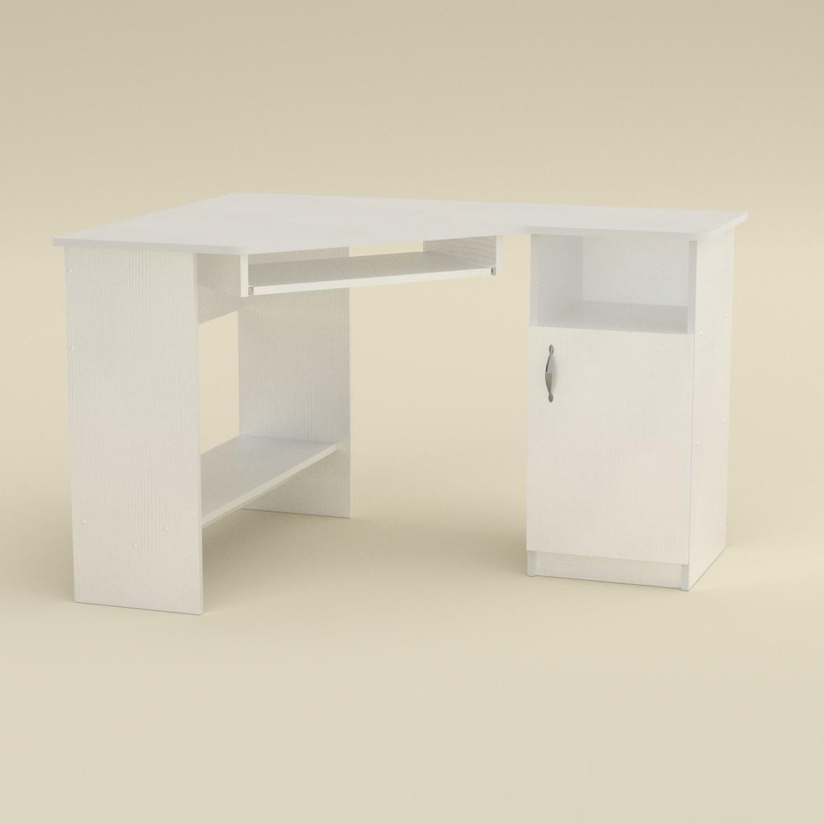 Стол компьютерный СУ-13 белый Компанит