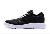 Мужские кожаные кроссовки YAVGOR black черные, фото 1