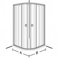 Villeroy&Boch Душевые двери Villeroy&Boch Frame to frame 90 см UDW9090NAU164V-61