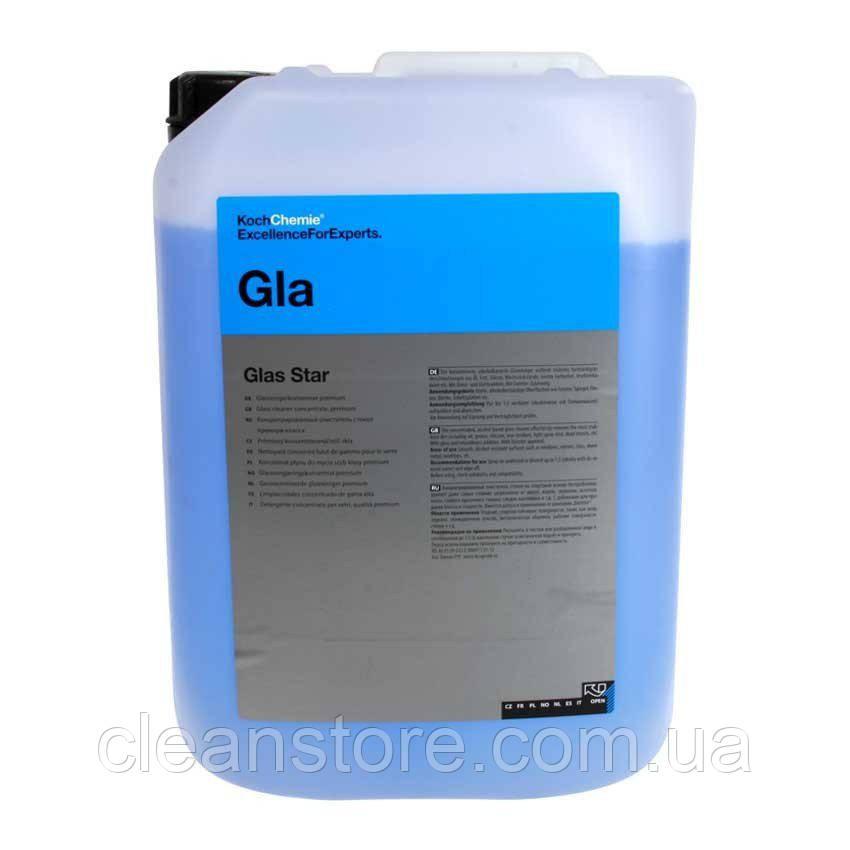 GLAS STAR очисник стекол спиртосодержащий концентрат, 33 л.