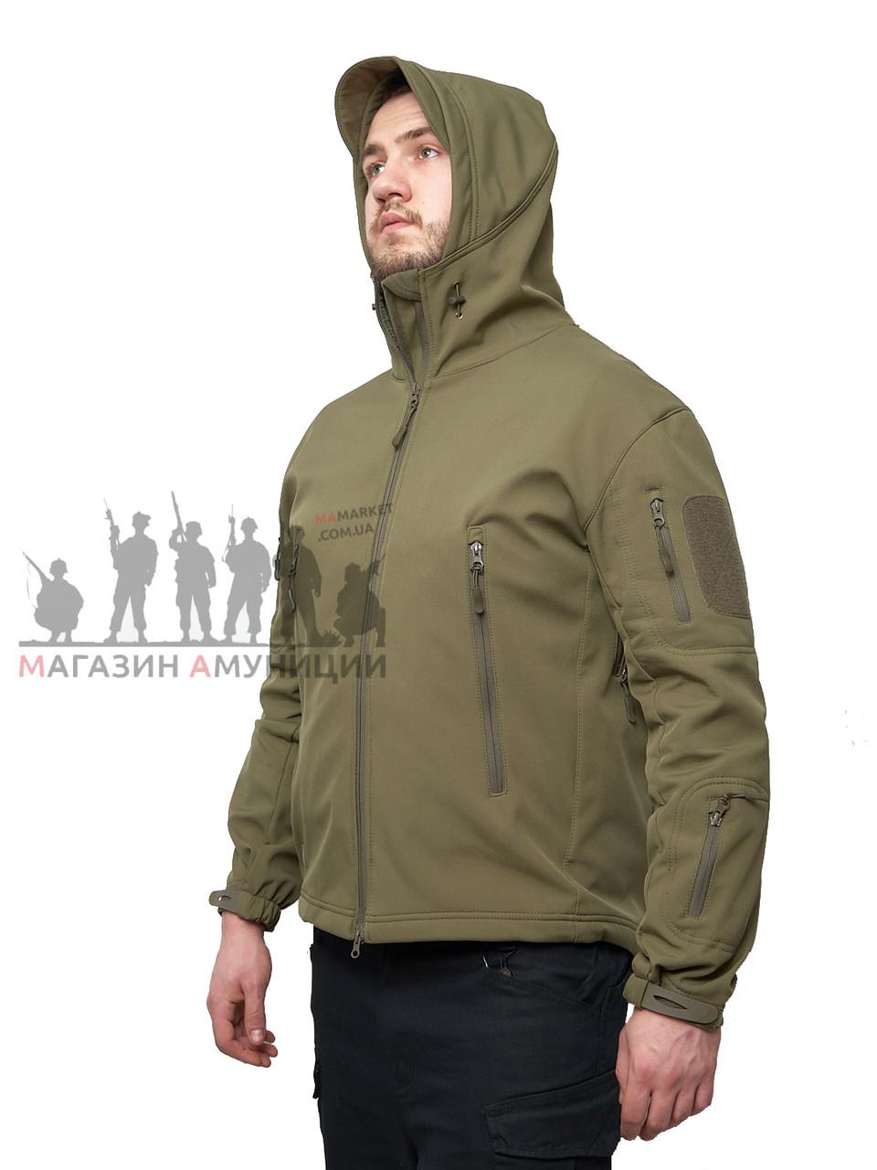Куртка тактична Softshell Shark Skin 01. ESDY. Олива