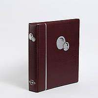 Альбом для монет Leuchtturm, NUMIS, на 143 монети, червоний
