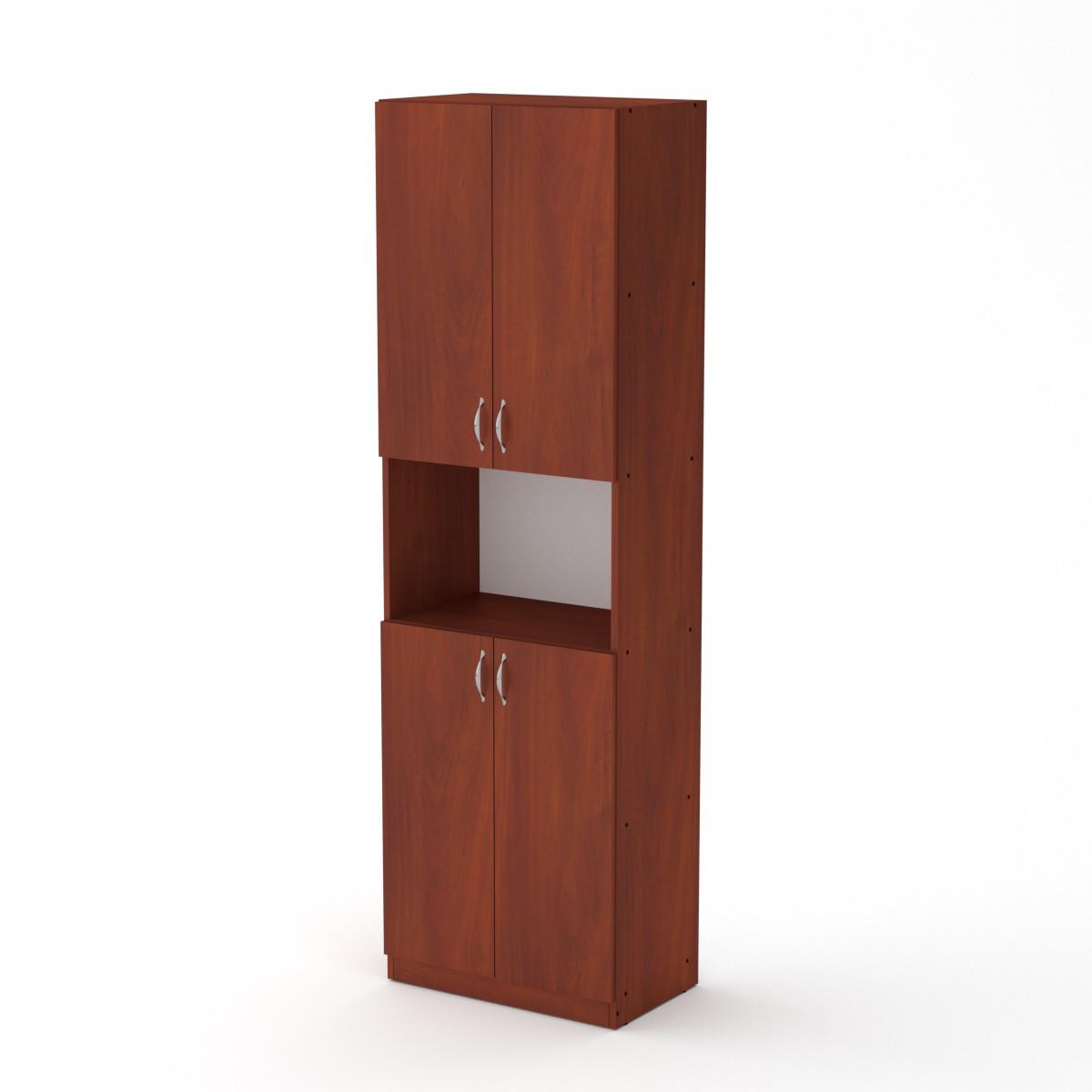 Шкаф книжный КШ-5 яблоня Компанит (60х37х195 см)
