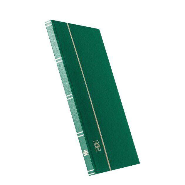 Альбом Leuchtturm для марок (кляссер) с 16 листами из черного картона, А4, зеленый