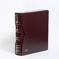 Альбом для банкнот Leuchtturm, NUMIS с футляром, (20 листов), красный
