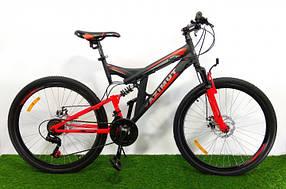 Підлітковий гірський велосипед Azimut Power 24 GD BLACK-RED