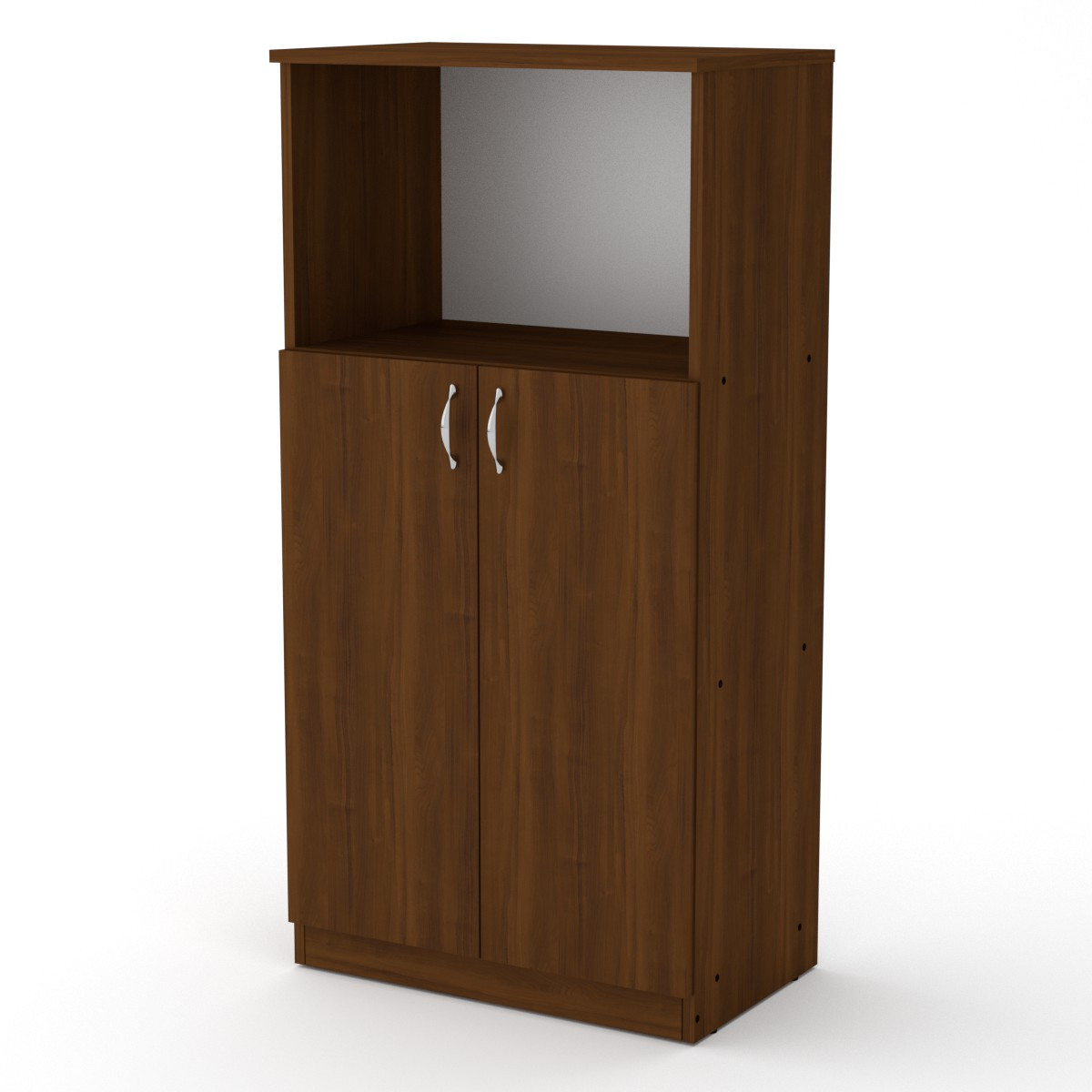Шкаф книжный КШ-15 орех экко Компанит (61х37х120 см)