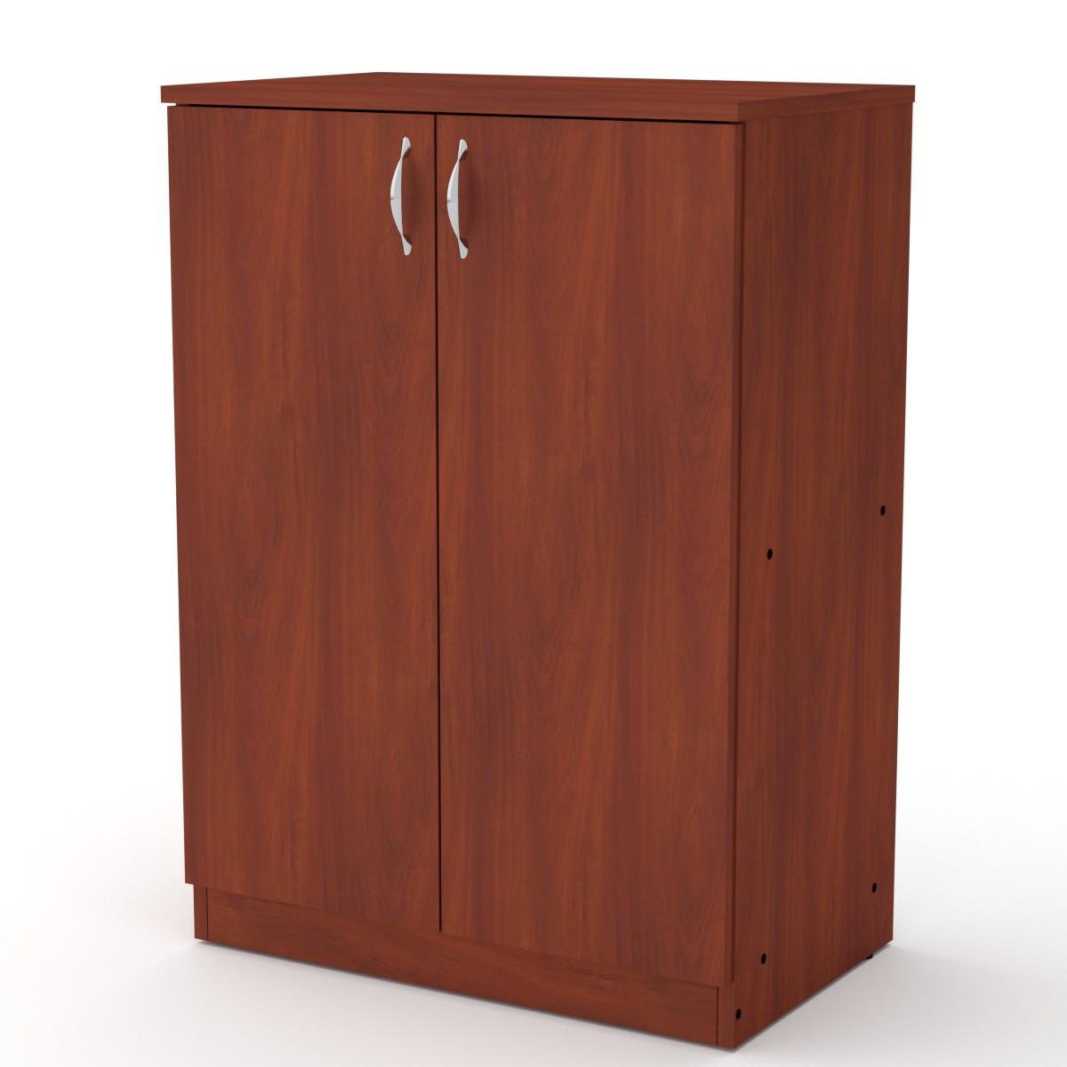 Шкаф книжный КШ-17 яблоня Компанит (61х37х84 см)