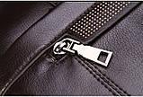 Мужская сумка-портфель Polo под формат А4. Черная   КС32-1, фото 9