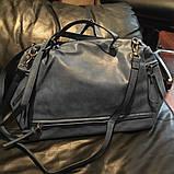 Стильная женская сумка. Сумка через плечо. КС66, фото 8