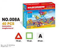 Дитячий магнітний конструктор MAGFORMERS 40 деталей.