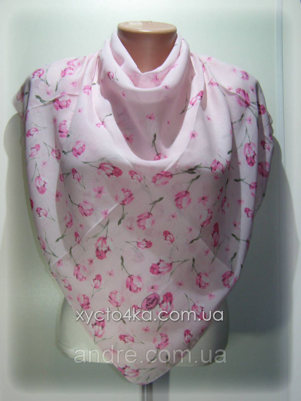 Платки на натуральной основе Эдельвейс, розовый