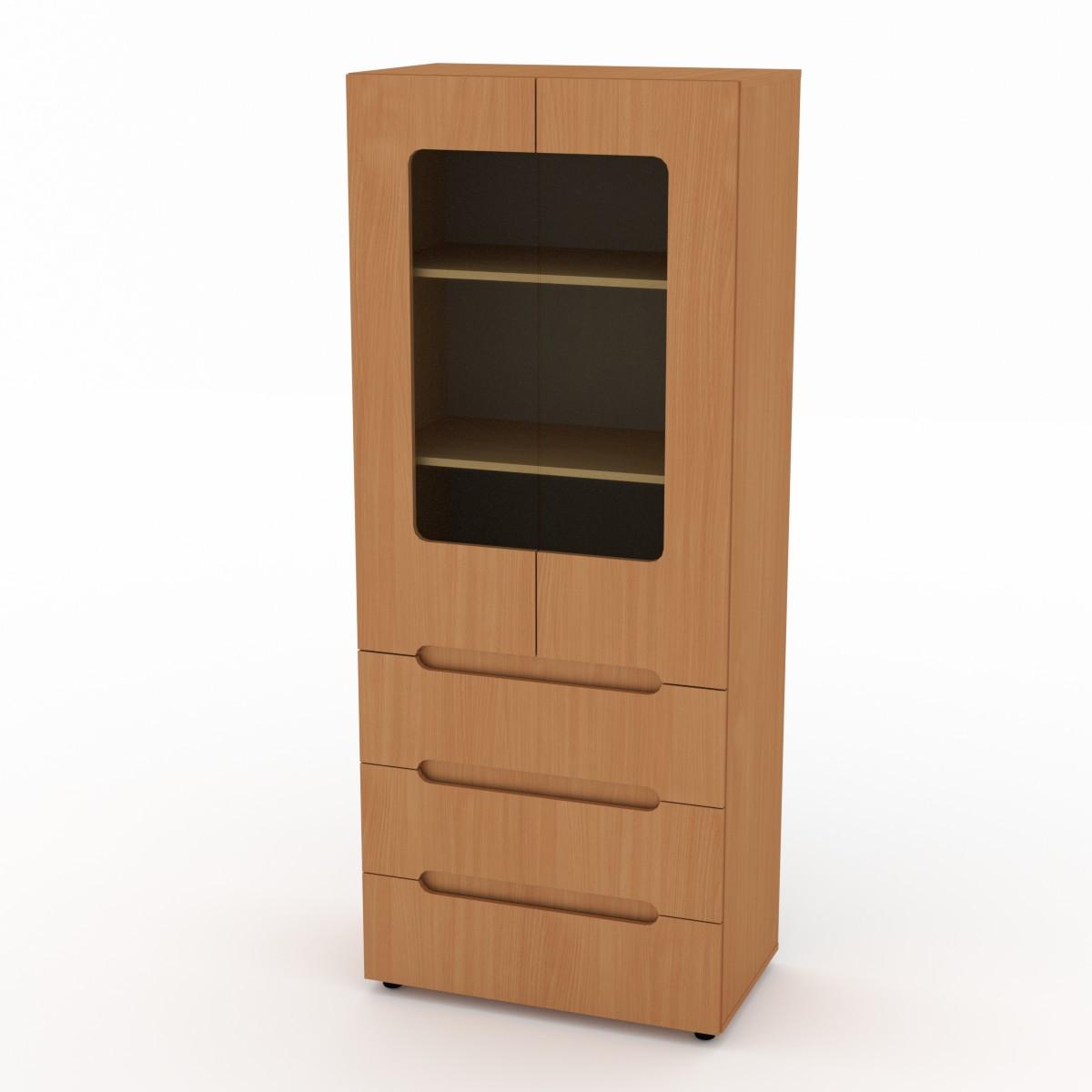 Шкаф книжный МС-21 бук Компанит
