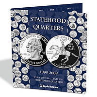 Альбом PRESSO для 25-ти центовых монет США